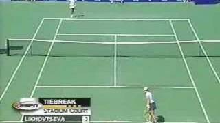 Monica Seles vs Elena Likhovtseva (2 of 2)