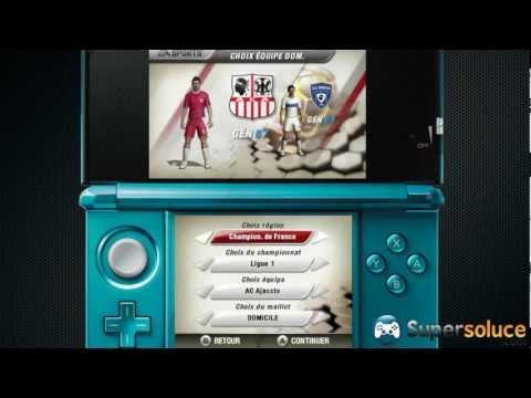 Fifa 13 sur Nintendo DS : Les 20 premières minutes