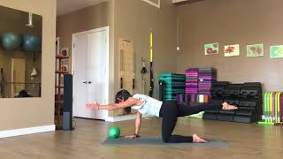 Stability Small Ball Mat Pilates with Teacher Trainer Fiona Hermanutz