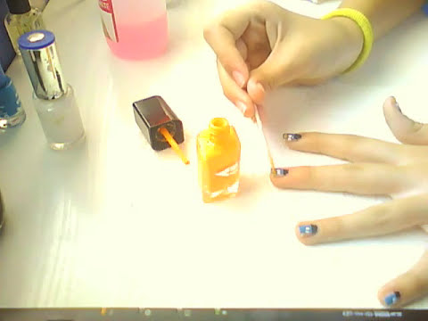 Tutorial uñas de perry el ornitorrinco.
