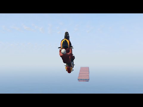 SERIOUSLY IMPOSSIBLE BIKING!? (GTA 5 Funny Moments)