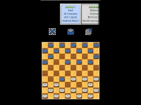 DrCheckers running on an android emulator