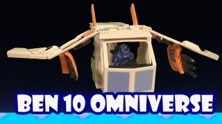 Ben 10 Omniverse Rook's Proto-Truk Toy Review Unboxing