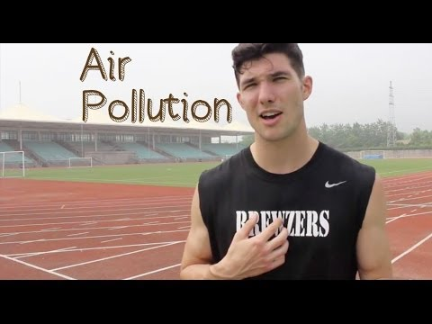 Exercising in China's Air Pollution