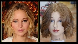 Jennifer Lawrence - NEW Haircut & Style Tutorial - TheSalonGuy