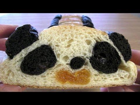 Layered Panda Bread 切っても切ってもパンダパン Recipe