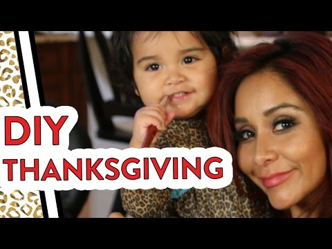 Snooki's Last Minute DIY Thanksgiving Ideas