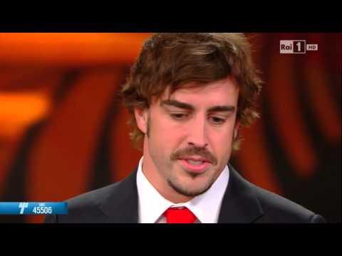 Fernando Alonso a Telethon 2013