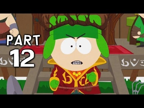 South Park Stick of Truth Gameplay Walkthrough Part 12 - Elven Kingdom