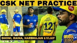 Check What Raina Is Trying To Do! CSK Net Practice Day 2 | IPL 2019 | Dhoni | Chennai Super Kings