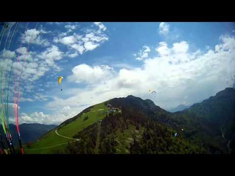 Kössen Paragliding - Juni 2013