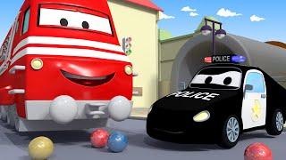 Tên trộm kẹo🍭 - xe lửa Troy 🚉 những bộ phim hoạt hình về xe tải l Vietnamese Cartoons for Kids