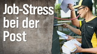 Job-Stress bei der Post | extra 3 | NDR