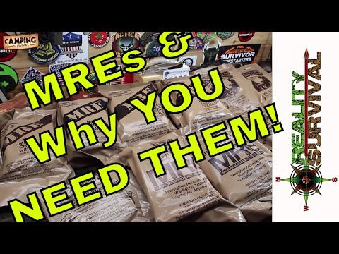 Military Meals Ready To Eat (MREs) & Why You Should Add Them To Your Preps!