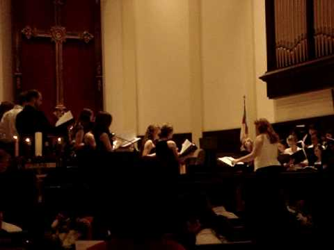 St. Thomas Episcopal choir performs Oh Holy Night