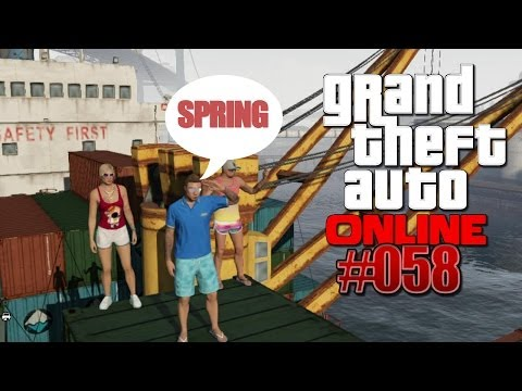 Let's Play GTA 5 / ONLINE #058 - TV Total Turmspringen 2013