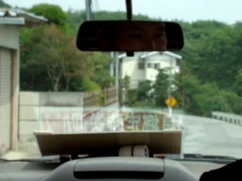 Driving around in Japan