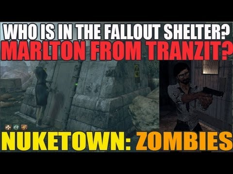 Who Is In The Fallout Shelter? Marlton Johnson From Tranzit?? (Quote Montage)