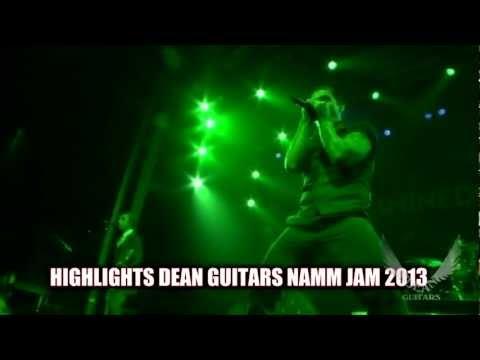 Shindedown Live at The Grove of Anaheim Dean Guitars NAMM JAM, 2013.