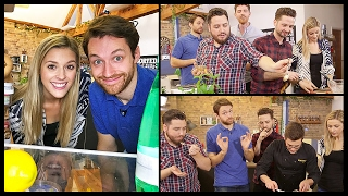 SPENCER VS ALEX COOKING CHALLENGE WITH SORTEDFOOD!