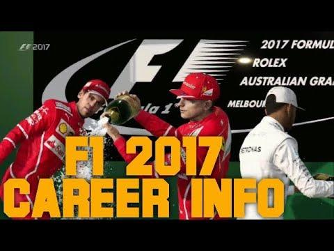 F1 2017 Codemasters | CAREER NIEUWE INFO EN BEELDEN (Nederlands)