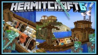 Hermitcraft Season 6: U.S.S UnderCut, ConCorps Newest Shop!   (Minecraft 1.13.1 survival  Ep.26)