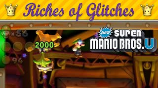 Riches of Glitches in New Super Mario Bros. U (Glitch Compilation)