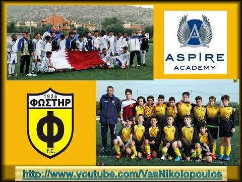 ASPIRE ACADEMY QATAR-FOSTIRAS FC (U13 2003)
