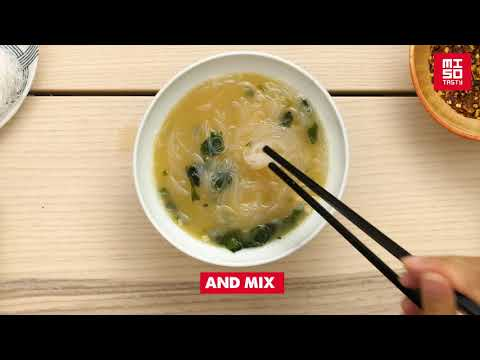 How to make our Miso Tasty Glass Noodle kit