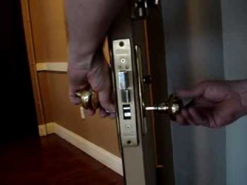 A New Lock Mortise Lock W Deadbolt Old New How To