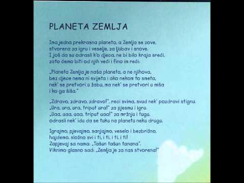 Planeta zemlja : Pjesme i price za djecu : knjiga + CD