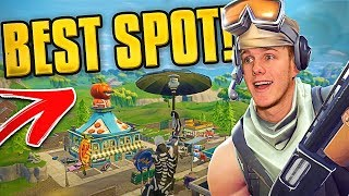 The Best Spot to Land in Fortnite Battle Royale!