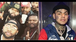6ix9ine was Denied Entry to a Houston Club by J Prince Jr because he didn't CHECK IN!