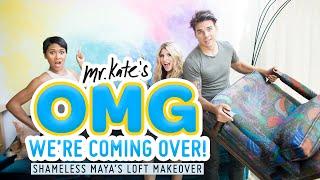 Colorful Loft Apartment Makeover for Shameless Maya