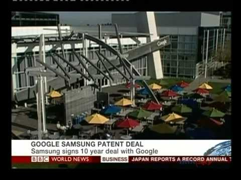 Samsung, Google sign patent-sharing deal