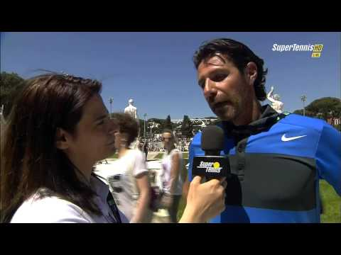 Rome 2013 Patrick Mouratoglou interview (pre-R2 match Serena Williams vs Robson)