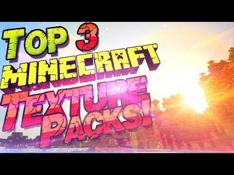 ☆ Top 3 Texture Packs für Minecraft ☆| 4 Packs GLEICHZEITIG | German Deutsc