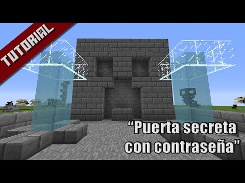 Puerta secreta con sistema de contraseña con item - Minecraft 1.7.4