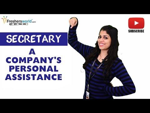 Job Roles For Secretary – Personal Assistant,Reporting skills,Professionalism