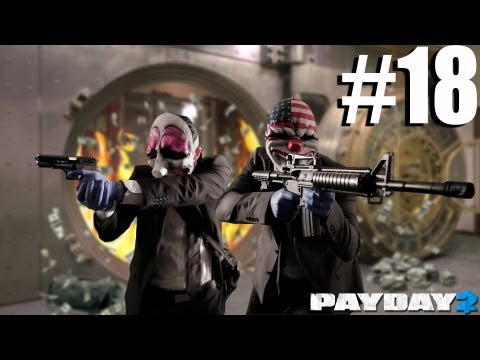 PRO JOB - Payday 2 Walkthrough The Elephant: Big Oil - Day 1
