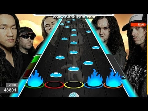 Rizki : Soldiers of the Wasteland Dragonforce 100 FC Guitar Flash Hard Dificil 76137 HD