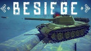 Besiege Best Creations - The Best Tank In Besiege! - Best Missile Designs - Besiege Gameplay
