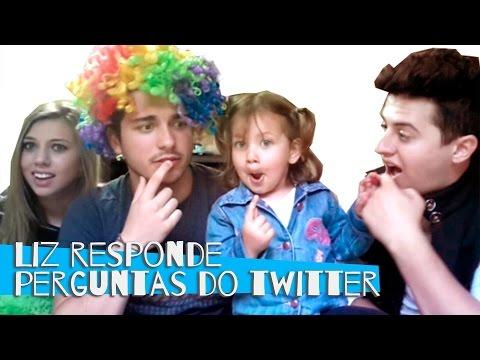 LIZ RESPONDE ÀS PERGUNTAS DO TWITTER | Luan Poffo