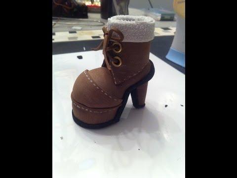 fofuchas-pospolinas: bota con plataforma para fofucha ( tutorial ...
