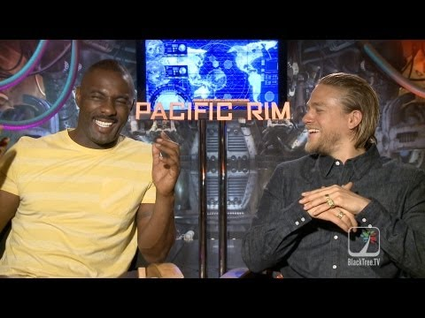 Pacific Rim Interviews w/ Idris Elba and Charlie Hunnam