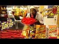 FLAMIN HOT CHEETOS & HOT TAKIS FRIED CHICKEN WINGS! COOKING D...