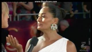 Emmy Award 2016 Tracee Ellis Ross Red Carpet