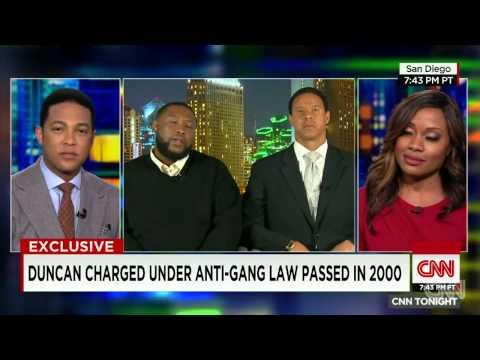 Brandon Duncan w/ Attorney Brian Watkins on CNN