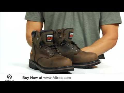Video: Men's Pit Boss 6 Inch Steel Toe Work Boots