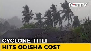 Cyclone Titli Hits Odisha's Gopalpur, Over 3 Lakh People Moved To Safety